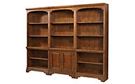 Aspen Hawthorne 3-Piece Bookcase Wall