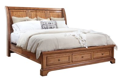 Aspen Alder Creek California King Sleigh Storage Bed
