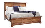 Aspen Alder Creek California King Panel Bed