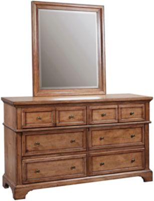 Aspen Alder Creek Dresser with Mirror