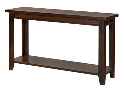 Aspen Grove Walnut Sofa Table