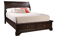 Aspen Bayfield California King Storage Bed