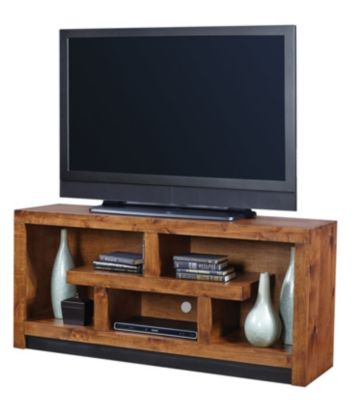 Aspen Contemporary Alder 60-Inch TV Console
