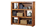 Aspen Contemporary Alder Short Bookcase