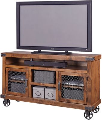 Aspen Industrial 65-Inch TV Console