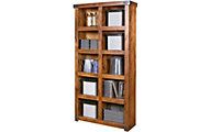 Aspen Industrial Fruitwood Tall Bookcase