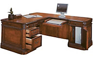 Aspen Napa Corner Desk and Return