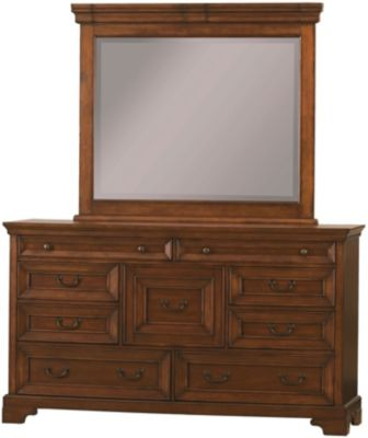 Aspen Richmond Dresser with Mirror