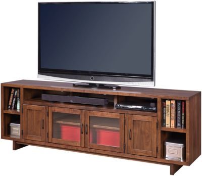 Aspen Walnut Heights Stout 84-Inch TV Console