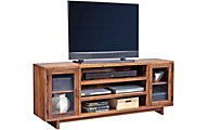 Aspen Walnut Heights Amber 74-Inch TV Console