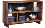 Aspen Walnut Heights Stout Console Table