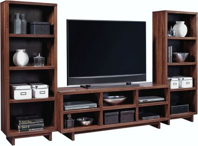 Aspen Walnut Heights Stout Entertainment Center