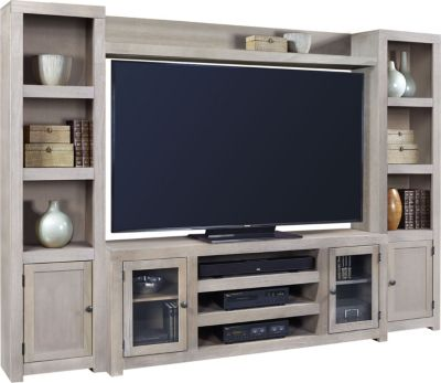 Aspen Contemporary Driftwood Entertainment Center