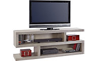 Aspen Contemporary Driftwood 74-Inch Console