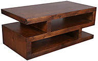 Aspen Contemporary Fruitwood Coffee Table