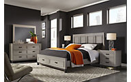 Aspen Hyde Park 4-Piece King Storage Bedroom Set