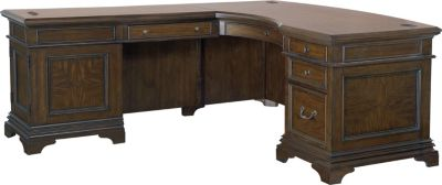 Aspen Essex Corner Desk with Return