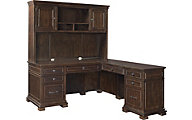 Aspen Weston Corner Desk, Return, & Hutch