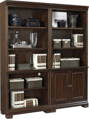 Aspen Weston 2-Piece Tall Bookcase Wall
