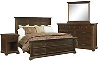 Aspen Weston 4-Piece King Bedroom Set