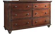Aspen Cambridge Brown Dresser