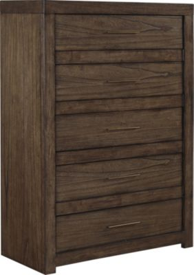 Aspen Modern Loft Brown Chest