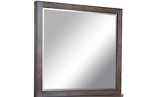 Aspen Modern Loft Brown Mirror