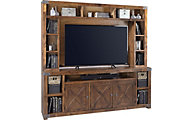 Aspen Urban Farmhouse Fruitwood Entertainment Center