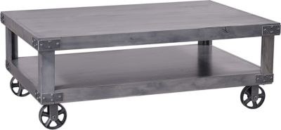 Aspen Industrial Gray Coffee Table