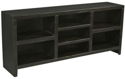 Aspen Essentials Lifestyles 74-Inch Black TV Console
