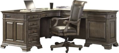 Aspen Arcadia Corner Desk And Return