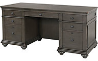 Aspen Oxford Peppercorn Executive Desk