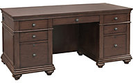 Aspen Oxford Whiskey Brown Executive Desk