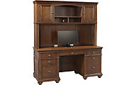 Aspen Oxford Whiskey Brown Credenza And Hutch