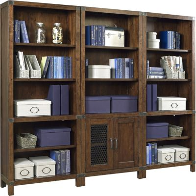 Aspen Canfield Tall Bookcase Wall