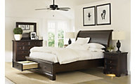 Aspen Bayfield 4-Piece King Storage Bedroom Set