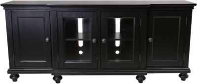 Aspen Oxford Black 75-Inch Console