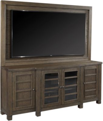 Aspen Tucker 75-Inch Bark Entertainment Center