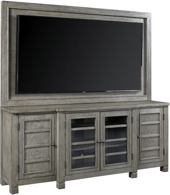Aspen Tucker Stone Entertainment Center with Mount