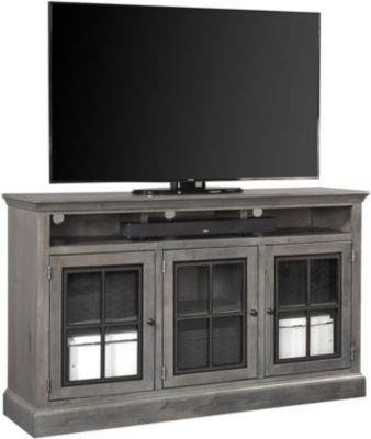 Aspen Churchill 66-Inch Gray Highboy Console