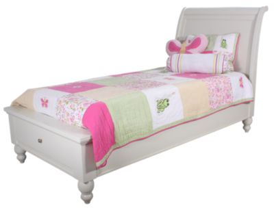 Aspen Cambridge Twin Storage Bed