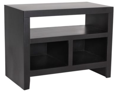 Aspen Essentials Lifestyles 32-Inch Black TV Console