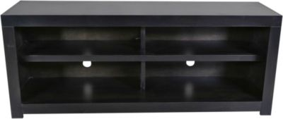 Aspen Avery Loft Ghost Black 60-Inch Open Console