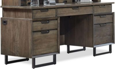 Aspen Harper Point Credenza Desk