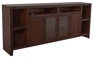 Aspen Essentials Lifestyles Cherry 84-Inch TV Console