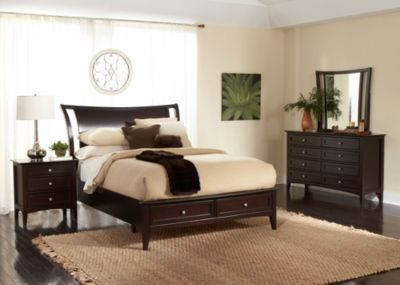 Aspen Kensington 4-Piece Queen Storage Bedroom Set