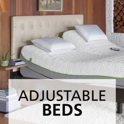 Adjustable beds and frames