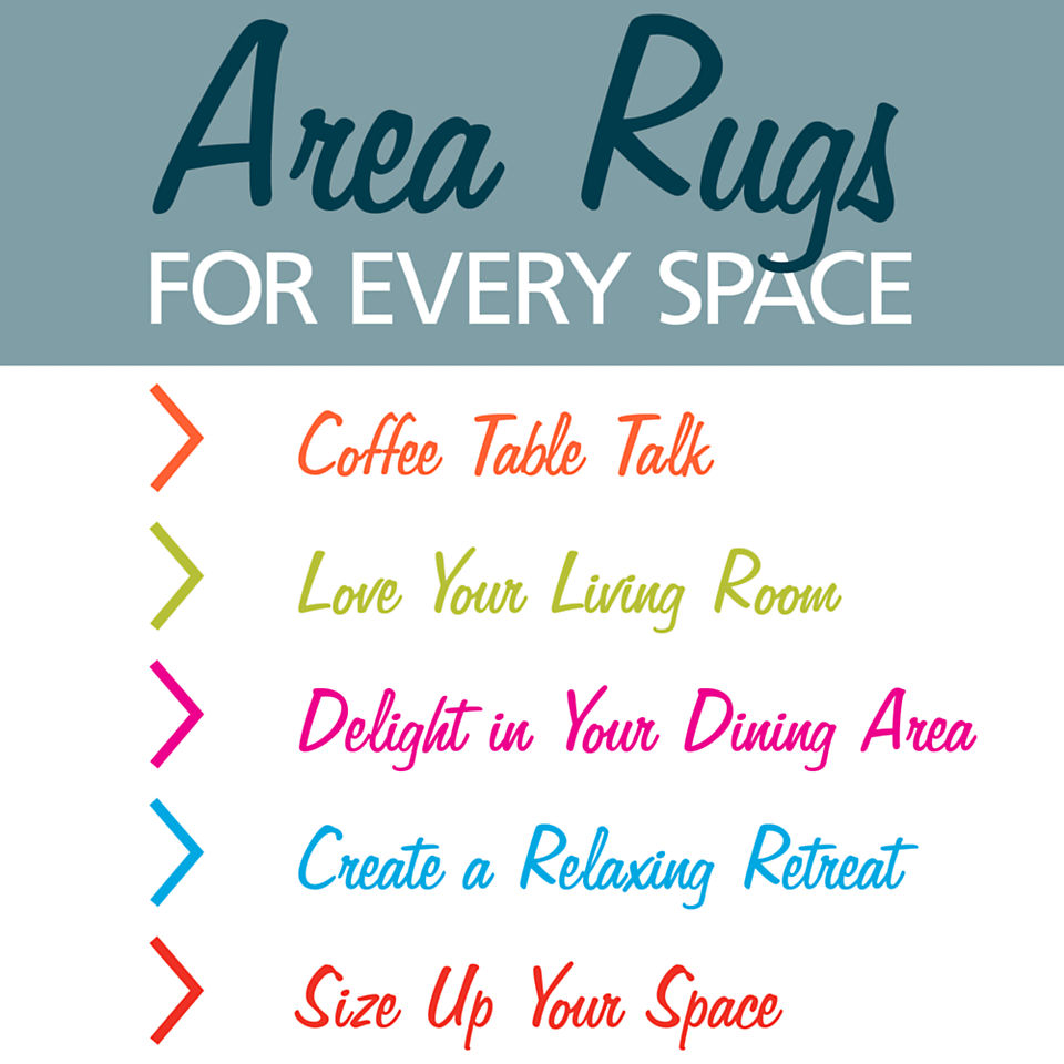 Area rug placement tips and tricks from Homemakers
