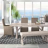 Ashley Beachcroft 6-Piece Outdoor Dining Set