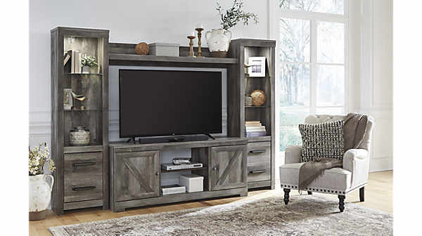 Ashley Wynnlow Entertainment Center